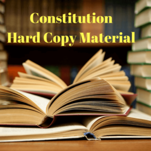 Constitution Study Material
