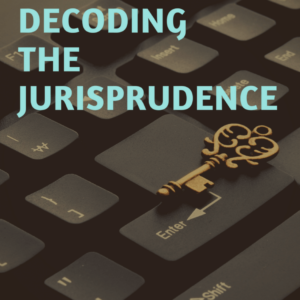 BOOK ON DECODING THE JURISPRUDENCE