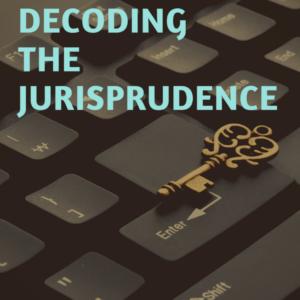 BOOK ON DECODING THE JURISPRUDENCE