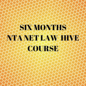 UGC NET LAW HIVE COURSE