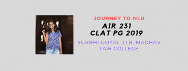 JOURNEY TO NLU INTERVIEW: SURBHI GOYAL