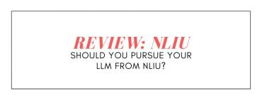 REVIEW OF NLIU: SHOULD YOU PURSUE YOUR LLM FROM NLIU?