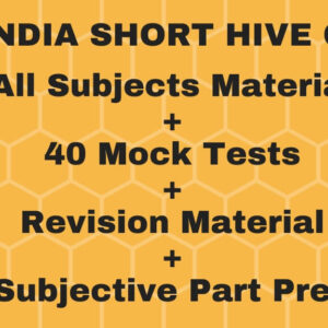 ALL INDIA LLM SHORT HIVE COURSE