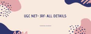 NTA UGC NET- JRF Scholarship